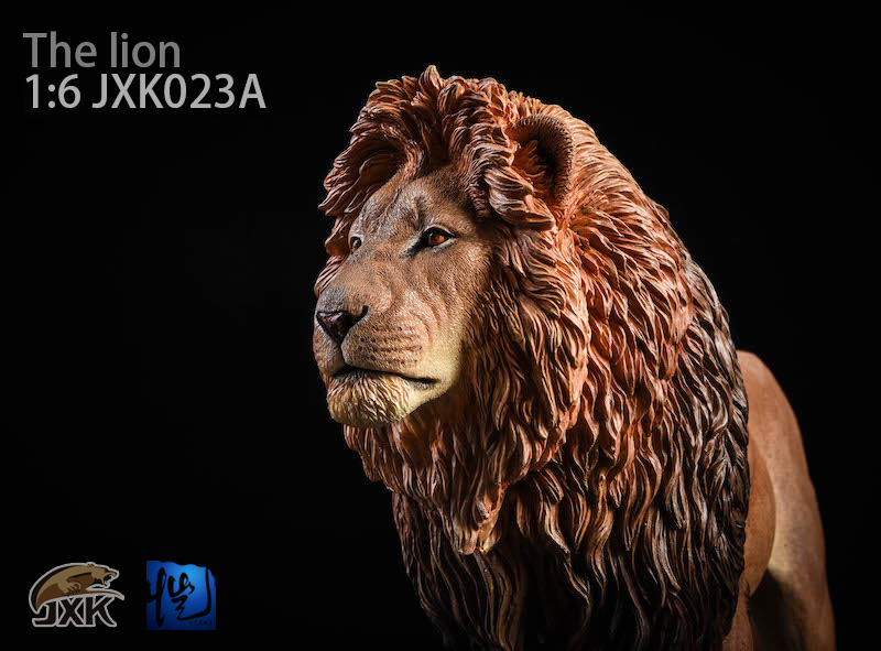 NEW PRODUCT: JXK New 1/6 Lion 2.0 Animal Model GK 01122010