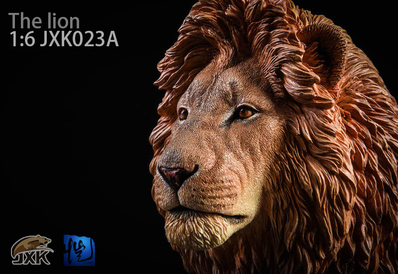 NEW PRODUCT: JXK New 1/6 Lion 2.0 Animal Model GK 01122210