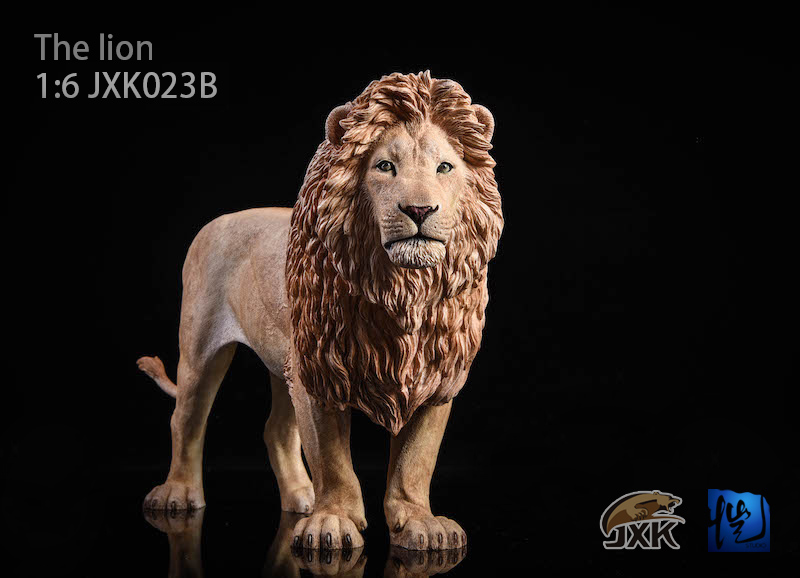 NEW PRODUCT: JXK New 1/6 Lion 2.0 Animal Model GK 01122310