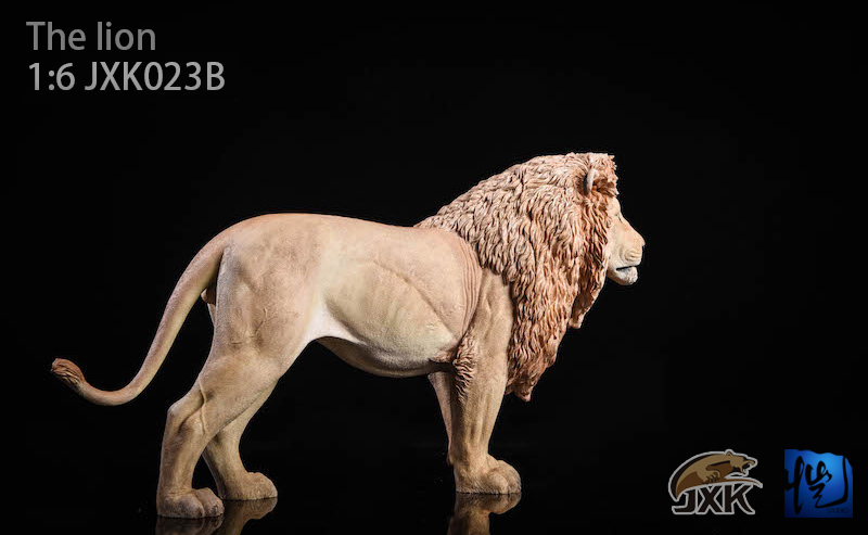 NEW PRODUCT: JXK New 1/6 Lion 2.0 Animal Model GK 01122511