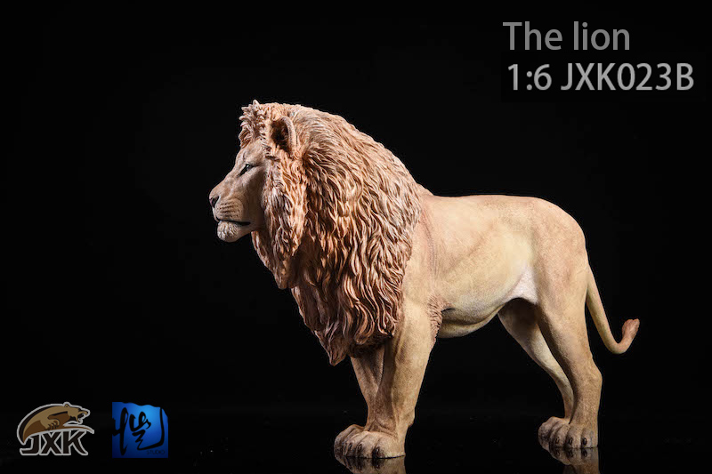 NEW PRODUCT: JXK New 1/6 Lion 2.0 Animal Model GK 01122610