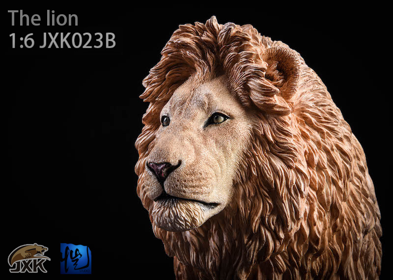 NEW PRODUCT: JXK New 1/6 Lion 2.0 Animal Model GK 01122611