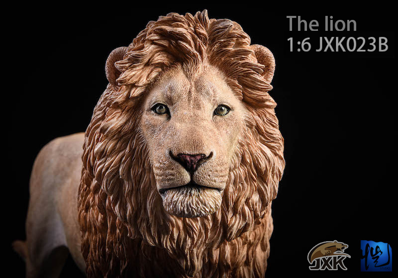 NEW PRODUCT: JXK New 1/6 Lion 2.0 Animal Model GK 01122710