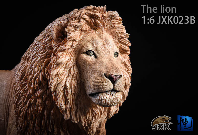 NEW PRODUCT: JXK New 1/6 Lion 2.0 Animal Model GK 01122810