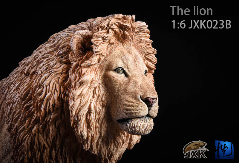 NEW PRODUCT: JXK New 1/6 Lion 2.0 Animal Model GK 01122811
