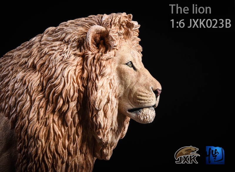 NEW PRODUCT: JXK New 1/6 Lion 2.0 Animal Model GK 01122910