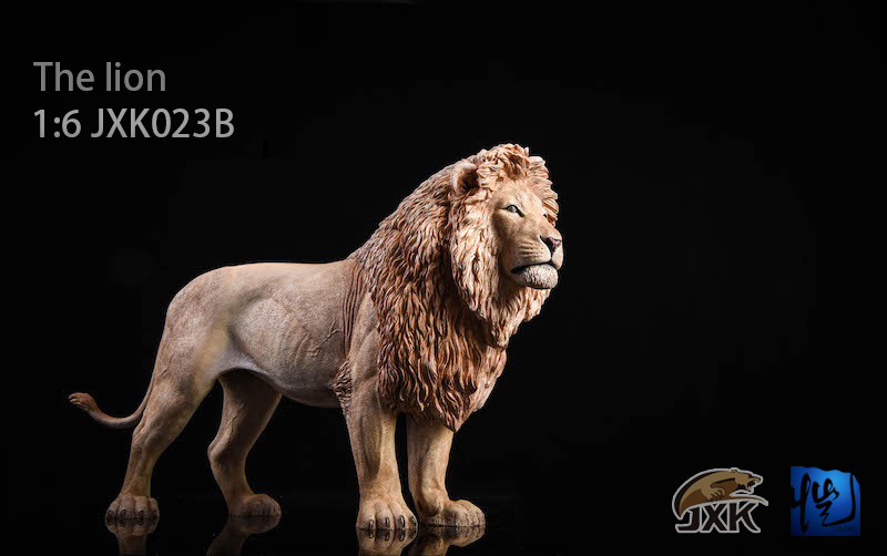 NEW PRODUCT: JXK New 1/6 Lion 2.0 Animal Model GK 01123010