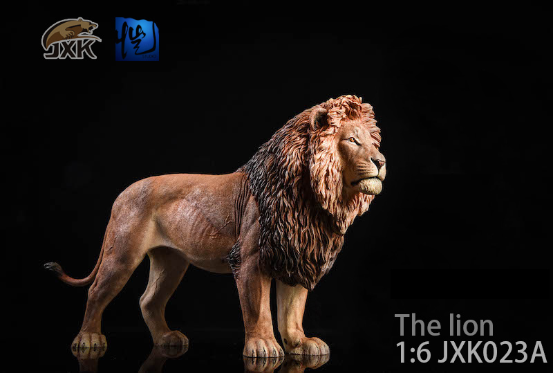NEW PRODUCT: JXK New 1/6 Lion 2.0 Animal Model GK 01123110