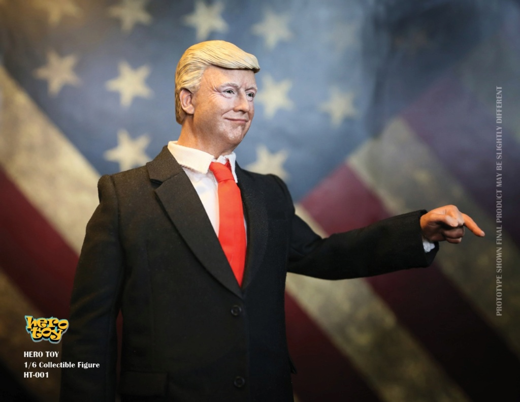US - NEW PRODUCT: HEROTOY + Face Mask Play: 1/6 President 01184410