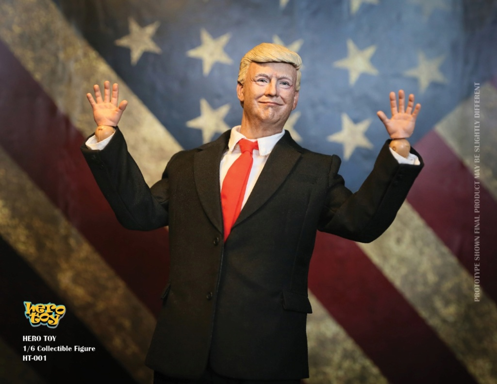 US - NEW PRODUCT: HEROTOY + Face Mask Play: 1/6 President 01322210
