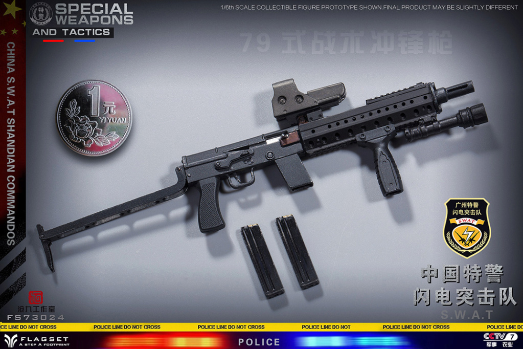 ArmySoul - NEW PRODUCT: FLAGSET & 沧久工作室新品: Army Soul Series 1/6 China Special Police Lightning Commando (FS73024#) 01451611