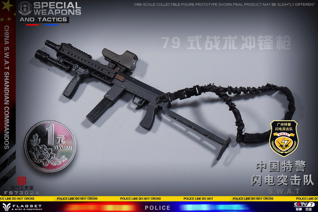 ArmySoul - NEW PRODUCT: FLAGSET & 沧久工作室新品: Army Soul Series 1/6 China Special Police Lightning Commando (FS73024#) 01451711