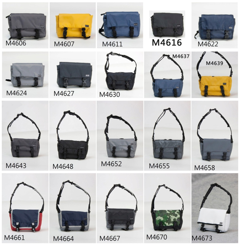 NEW PRODUCT: PURE SKY New: 1/6 Messenger Bag Series - 20 colors in total  01491810