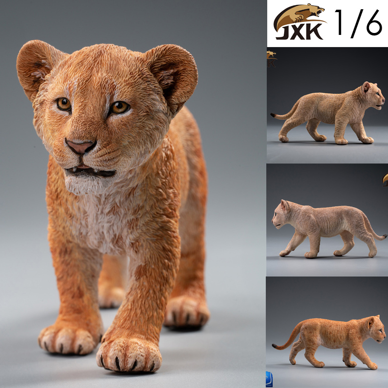 cubs - NEW PRODUCT: JXK/Kaiser: 1/6 Lion King - Little Simba and Nana 01535410