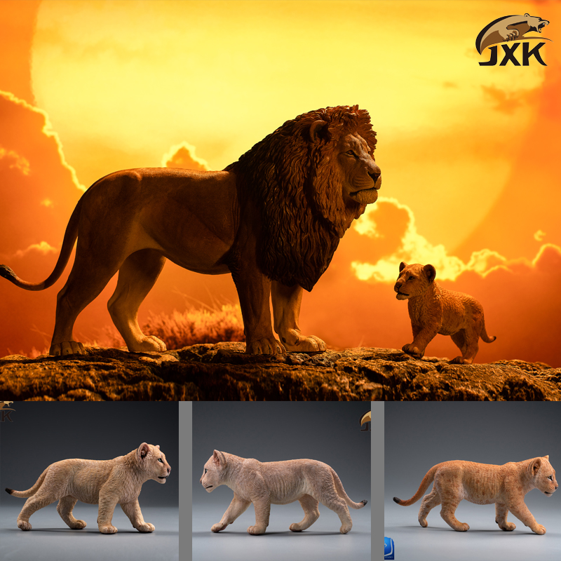 cubs - NEW PRODUCT: JXK/Kaiser: 1/6 Lion King - Little Simba and Nana 01535510