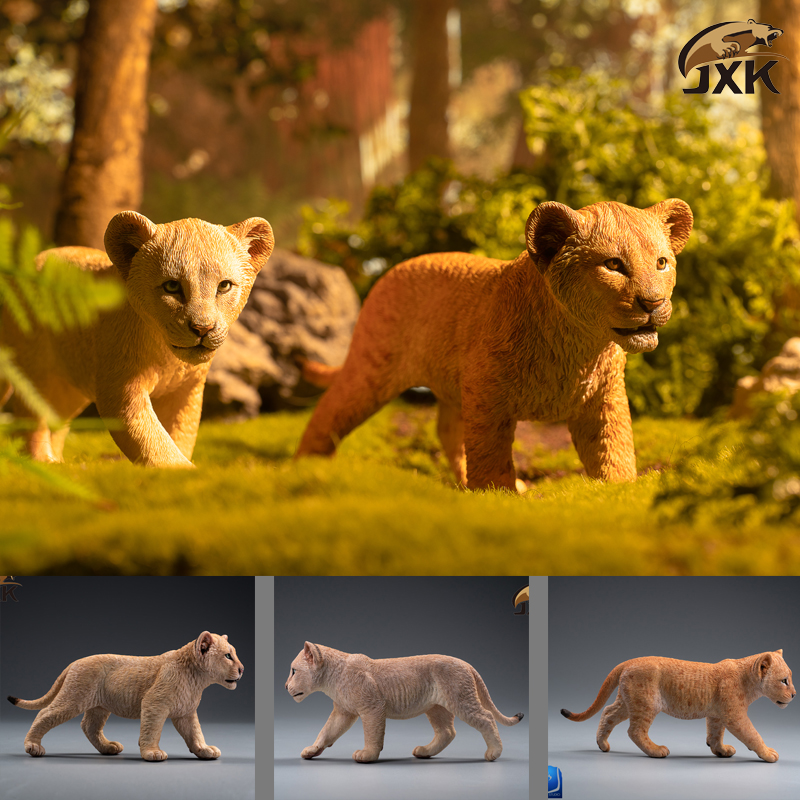 cubs - NEW PRODUCT: JXK/Kaiser: 1/6 Lion King - Little Simba and Nana 01535610