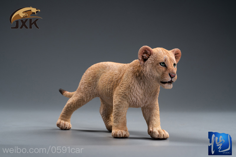 cubs - NEW PRODUCT: JXK/Kaiser: 1/6 Lion King - Little Simba and Nana 01535611