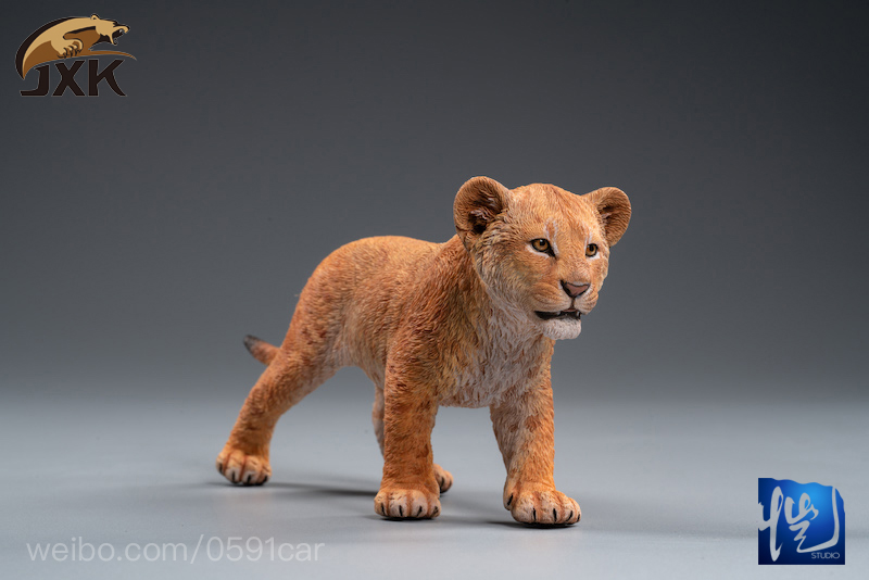 cubs - NEW PRODUCT: JXK/Kaiser: 1/6 Lion King - Little Simba and Nana 01535810