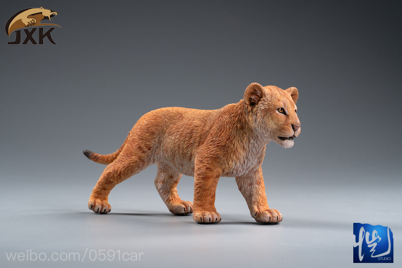 cubs - NEW PRODUCT: JXK/Kaiser: 1/6 Lion King - Little Simba and Nana 01535910