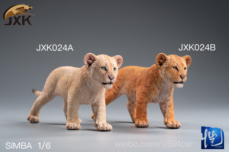 cubs - NEW PRODUCT: JXK/Kaiser: 1/6 Lion King - Little Simba and Nana 01535911