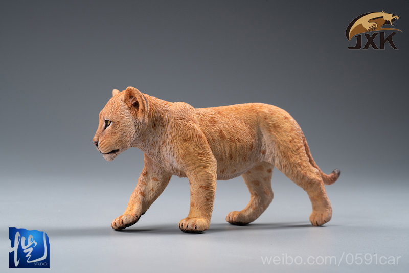 cubs - NEW PRODUCT: JXK/Kaiser: 1/6 Lion King - Little Simba and Nana 01540010