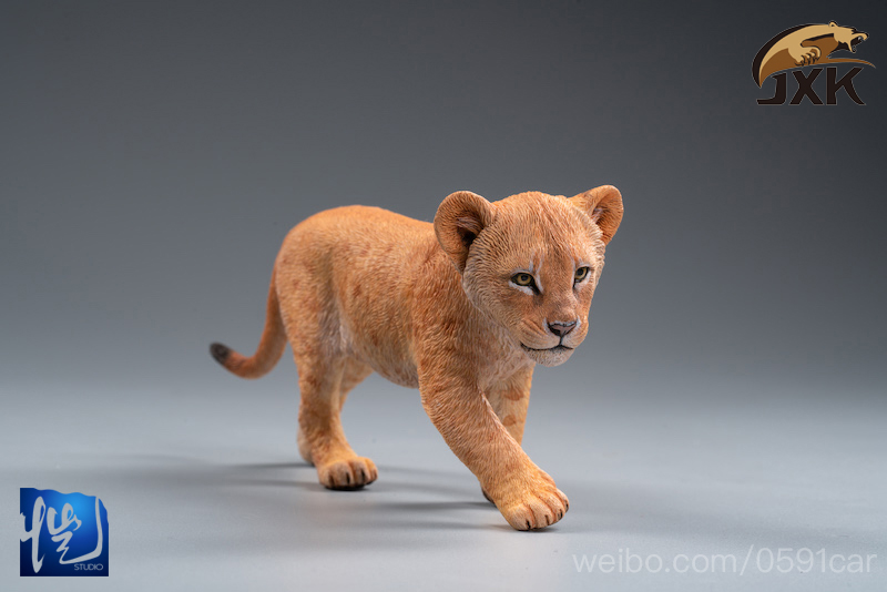 cubs - NEW PRODUCT: JXK/Kaiser: 1/6 Lion King - Little Simba and Nana 01540011