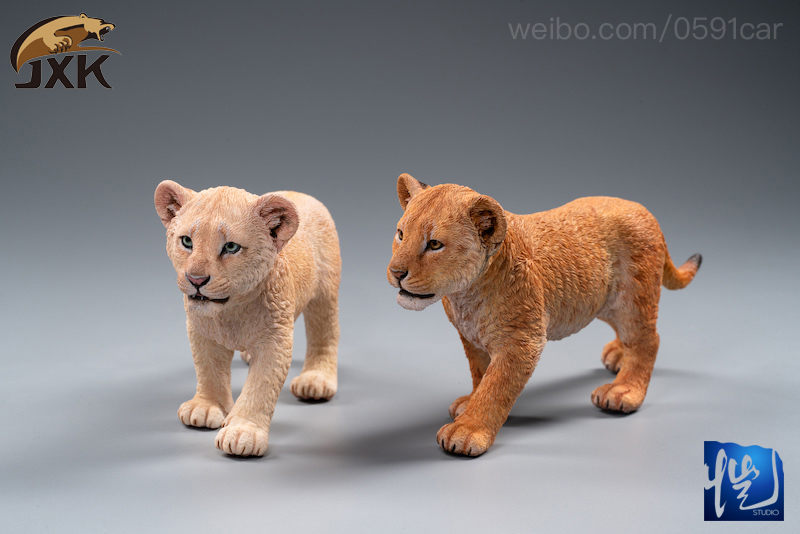 cubs - NEW PRODUCT: JXK/Kaiser: 1/6 Lion King - Little Simba and Nana 01540012