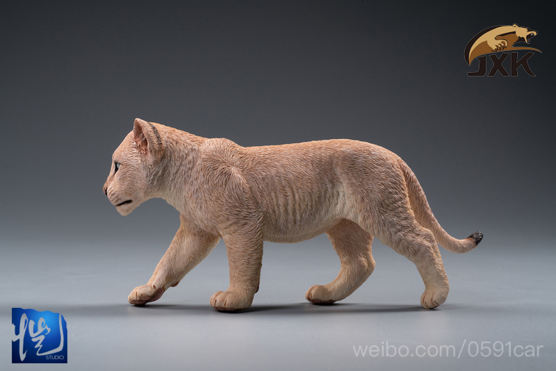 cubs - NEW PRODUCT: JXK/Kaiser: 1/6 Lion King - Little Simba and Nana 01540211