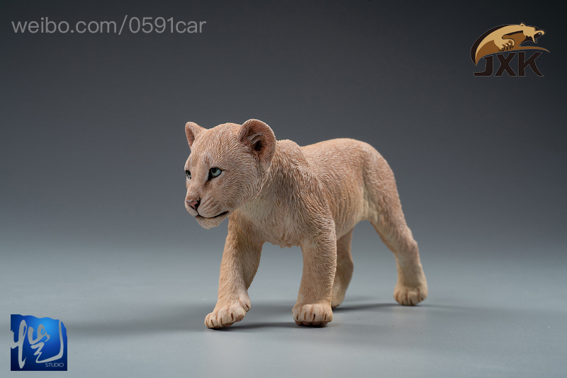 cubs - NEW PRODUCT: JXK/Kaiser: 1/6 Lion King - Little Simba and Nana 01540310