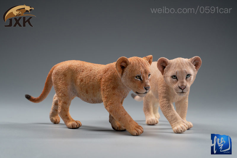 cubs - NEW PRODUCT: JXK/Kaiser: 1/6 Lion King - Little Simba and Nana 01540311