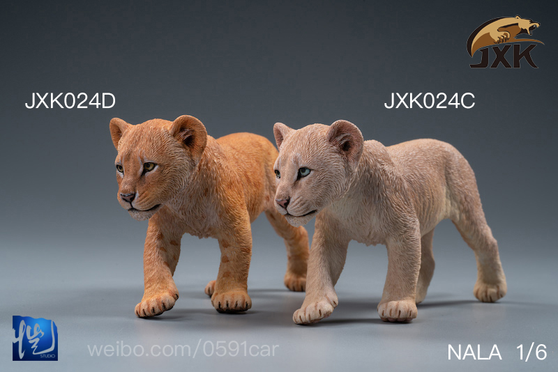 cubs - NEW PRODUCT: JXK/Kaiser: 1/6 Lion King - Little Simba and Nana 01540312