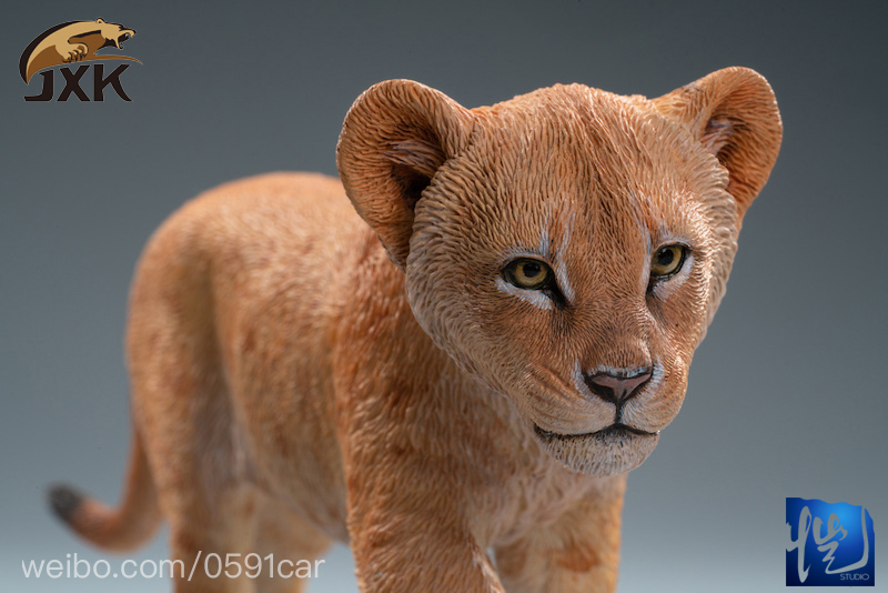 cubs - NEW PRODUCT: JXK/Kaiser: 1/6 Lion King - Little Simba and Nana 01540410