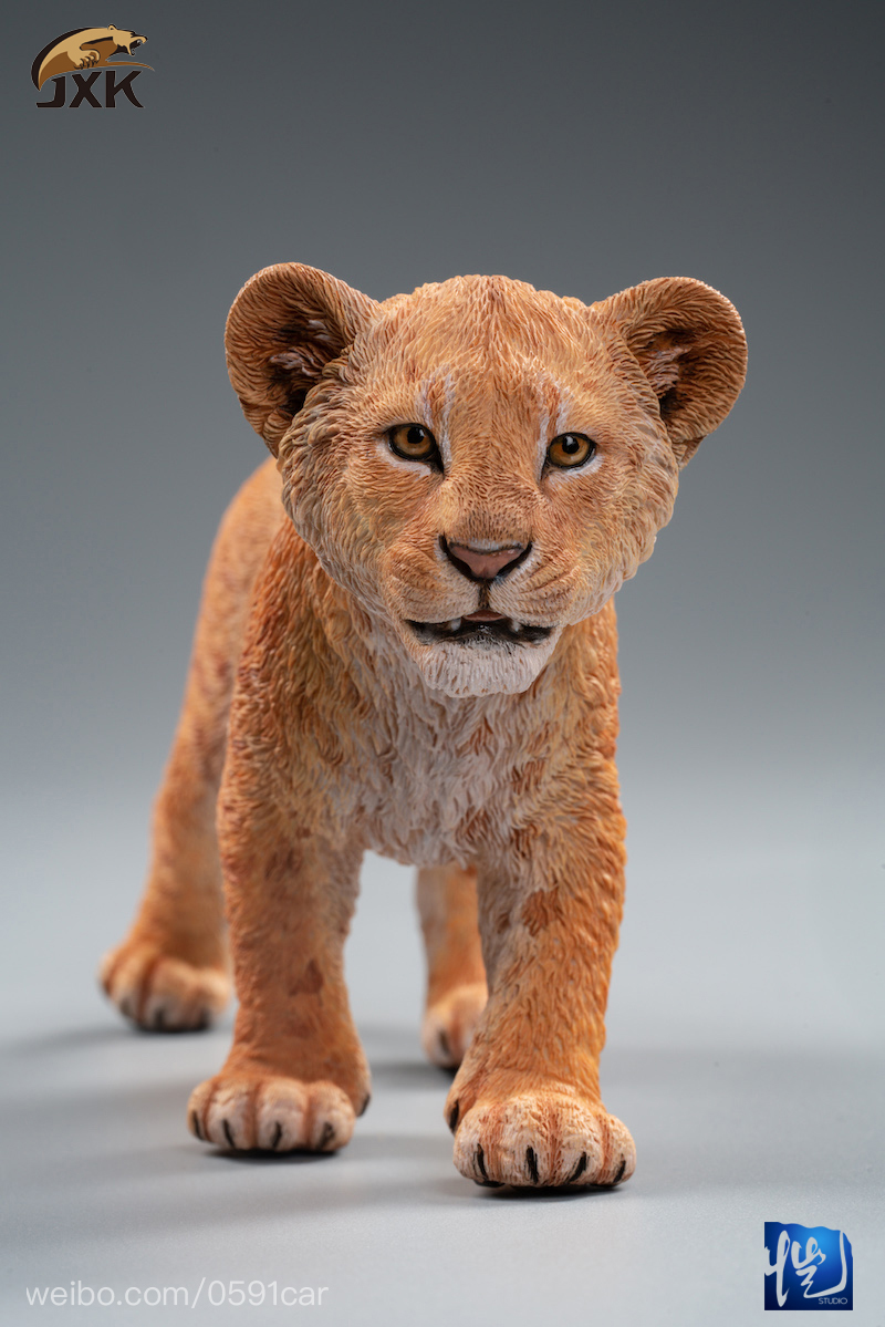 cubs - NEW PRODUCT: JXK/Kaiser: 1/6 Lion King - Little Simba and Nana 01540411
