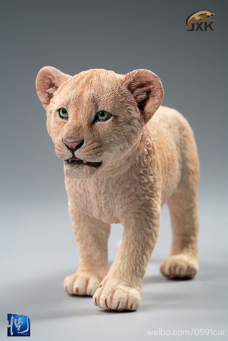 cubs - NEW PRODUCT: JXK/Kaiser: 1/6 Lion King - Little Simba and Nana 01540510