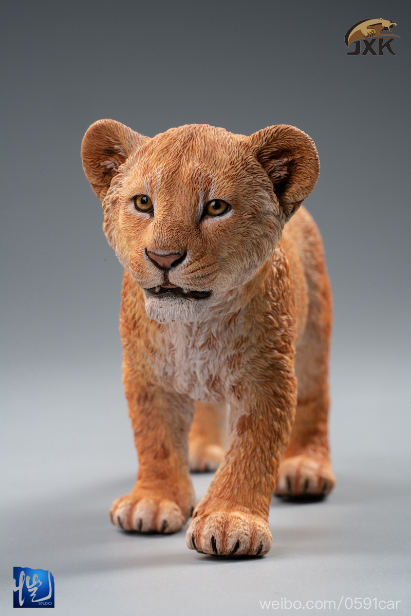 cubs - NEW PRODUCT: JXK/Kaiser: 1/6 Lion King - Little Simba and Nana 01540511