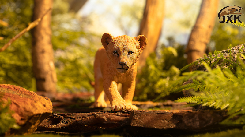 cubs - NEW PRODUCT: JXK/Kaiser: 1/6 Lion King - Little Simba and Nana 01540710