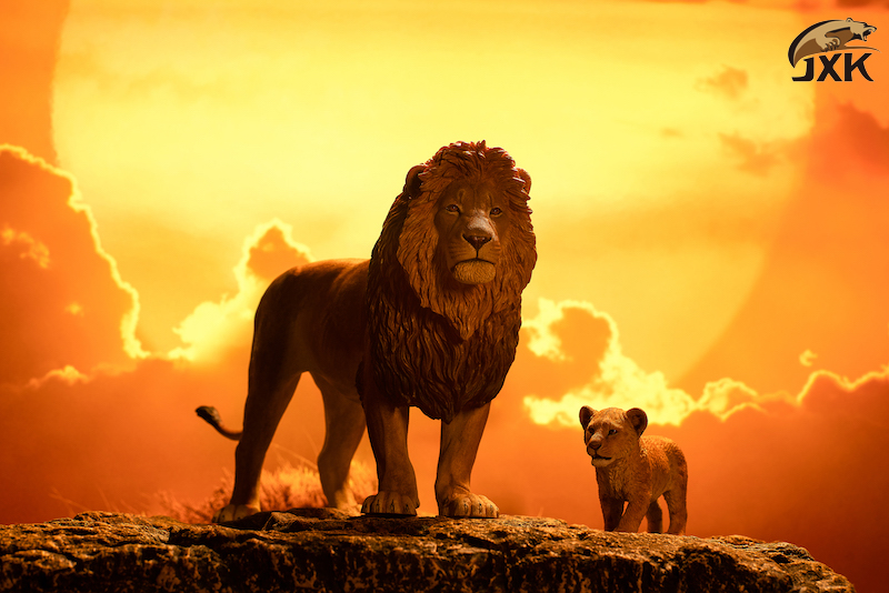 cubs - NEW PRODUCT: JXK/Kaiser: 1/6 Lion King - Little Simba and Nana 01540810