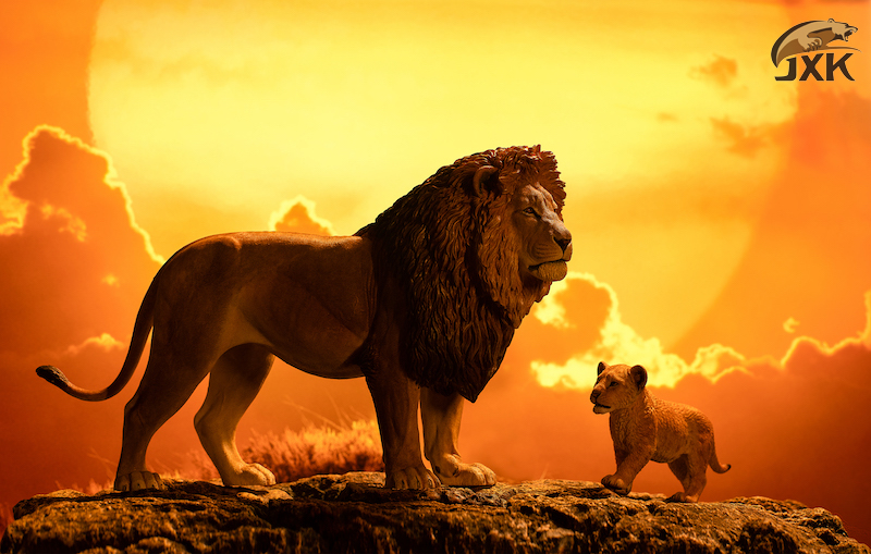 cubs - NEW PRODUCT: JXK/Kaiser: 1/6 Lion King - Little Simba and Nana 01540811