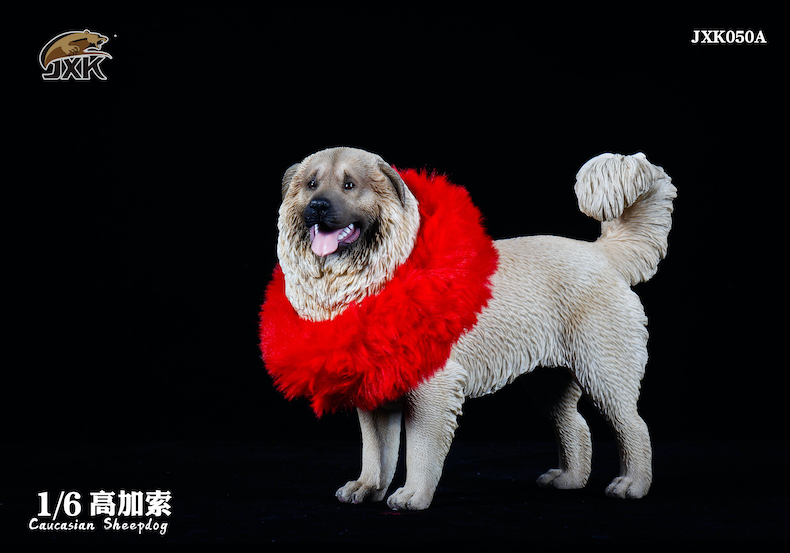 Dog - NEW PRODUCT: JXK: Caucasian Shepherd Dog JXK050 & African Hyena JXK051 Striped Hyena 01595410