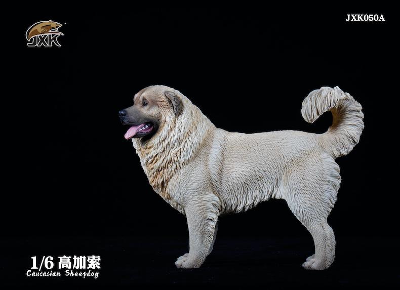 Dog - NEW PRODUCT: JXK: Caucasian Shepherd Dog JXK050 & African Hyena JXK051 Striped Hyena 01595510