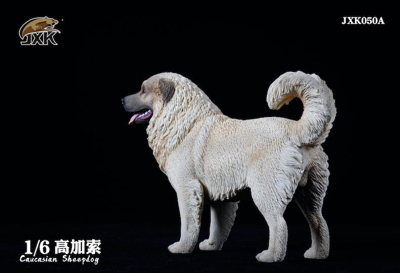 Dog - NEW PRODUCT: JXK: Caucasian Shepherd Dog JXK050 & African Hyena JXK051 Striped Hyena 01595610