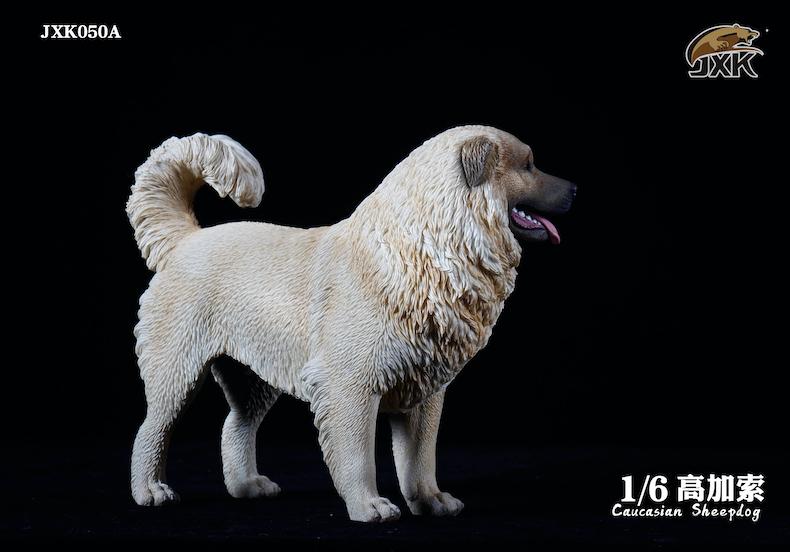 Dog - NEW PRODUCT: JXK: Caucasian Shepherd Dog JXK050 & African Hyena JXK051 Striped Hyena 01595710