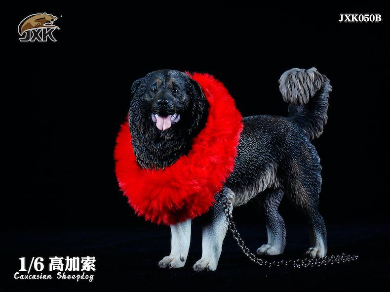 Dog - NEW PRODUCT: JXK: Caucasian Shepherd Dog JXK050 & African Hyena JXK051 Striped Hyena 01595810