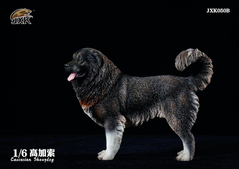 Dog - NEW PRODUCT: JXK: Caucasian Shepherd Dog JXK050 & African Hyena JXK051 Striped Hyena 01595910