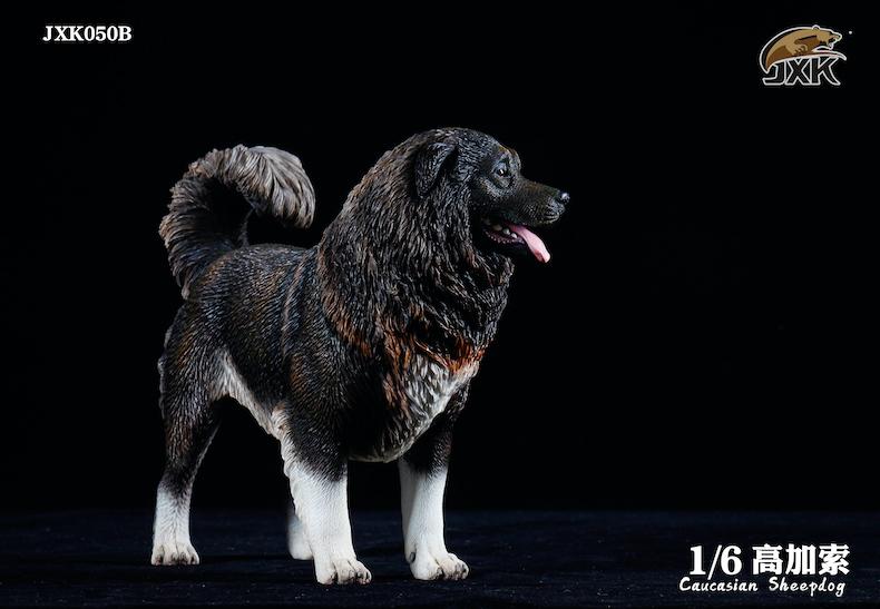 Dog - NEW PRODUCT: JXK: Caucasian Shepherd Dog JXK050 & African Hyena JXK051 Striped Hyena 01595911