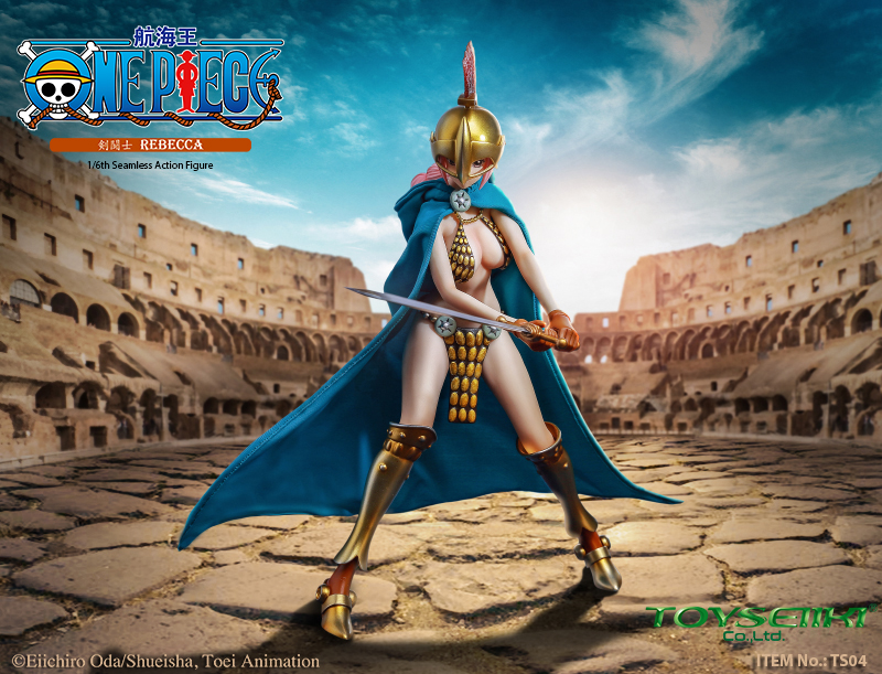 "NEW PRODUCT: TOYSEIIKI New product: 1/6 ""One Piece"" genuine license - Sword Fighter Rebecca (double head carved single body) 017"