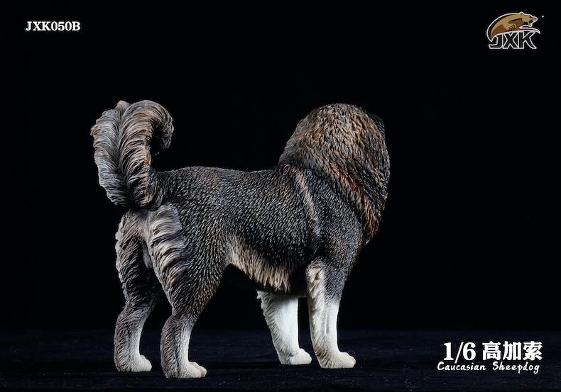 Dog - NEW PRODUCT: JXK: Caucasian Shepherd Dog JXK050 & African Hyena JXK051 Striped Hyena 02000010