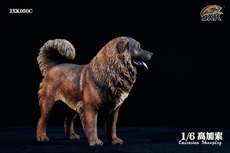 Dog - NEW PRODUCT: JXK: Caucasian Shepherd Dog JXK050 & African Hyena JXK051 Striped Hyena 02000610