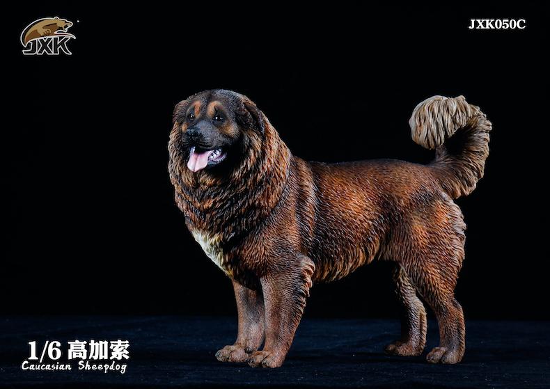 Dog - NEW PRODUCT: JXK: Caucasian Shepherd Dog JXK050 & African Hyena JXK051 Striped Hyena 02000611