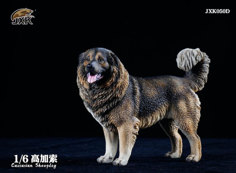 Dog - NEW PRODUCT: JXK: Caucasian Shepherd Dog JXK050 & African Hyena JXK051 Striped Hyena 02000811